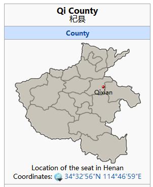 la situación del mercado en el condado de QiXiang